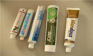 高端牙膏软管