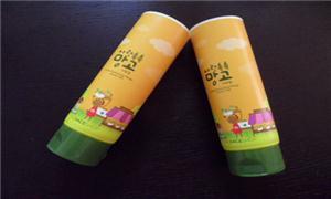 韩国化妆品软管