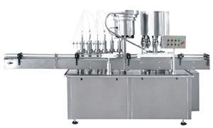 液体灌装轧盖机